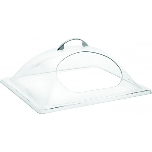 1/2 GN PC Display Cover with Centre Cut Hole (33 x 27cm)