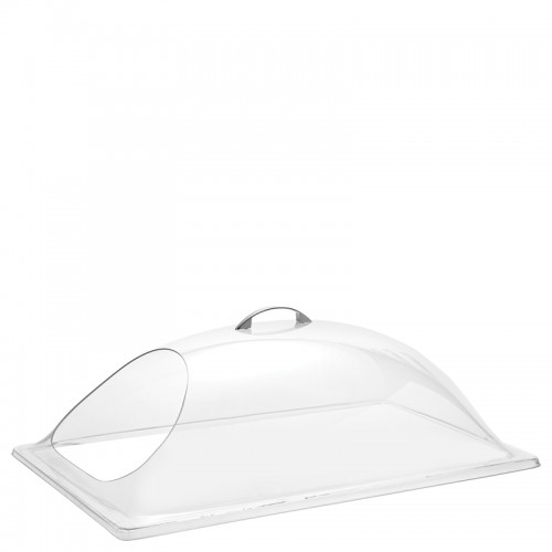 1/1 GN PC Display Cover with End Cut Hole (54 x 34cm)