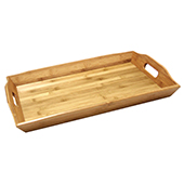 Handled Wood Trays